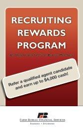 RECRUITING REWARDS PROGRAM - Kansas Farm Bureau