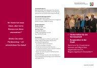 Seminarflyer (PDF-Datei, 1,8 MB) - Kompetenzzentrum für Integration
