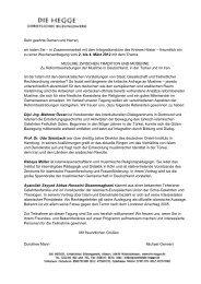 Tagungsprogramm (pdf, 120 KB)