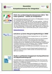 10/2013(PDF) - Kompetenzzentrum für Integration