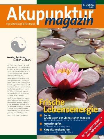 Akupunktur Magazin PDF Ausgabe 2/11 mit den - Österreichische ...