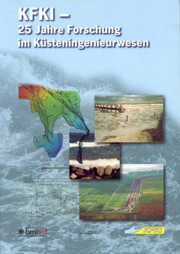 KFKI - 25 Jahre Forschung im Küsteningenieurwesen