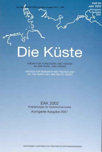 Die Küste, 65 EAK 2002 korrigierte Ausgabe 2007, 1-589 - KFKI