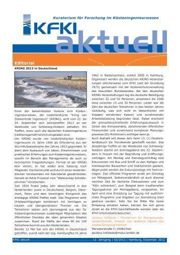 KFKI aktuell 2/2012