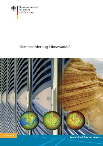 Herausforderung Klimawandel - KFKI