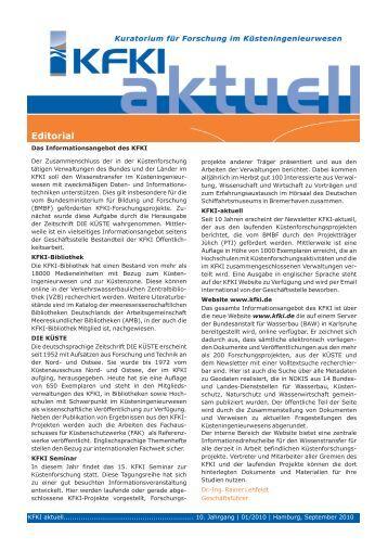 KFKI aktuell 1/2010