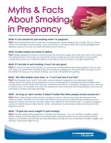 Facts On Smoking In Public