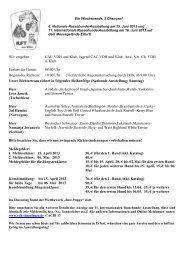 Ausschreibung Terrier CACIB - Klub für Terrier e.V.