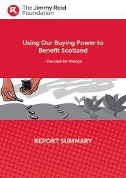Download summary of Procurement Report - The Reid Foundation