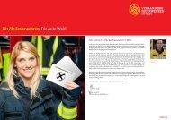 Wahlprüfsteine - Feuerwehr Zeppenfeld