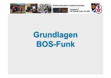 Grundlagen BOS-Funk