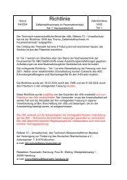 vfdb-Richtlinie 10/05