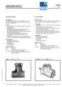 Doppelwandiges Stellventil Ty 600 - Daume Regelarmaturen Gmbh - Page 3