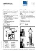 Doppelwandiges Stellventil Ty 600 - Daume Regelarmaturen Gmbh - Page 4