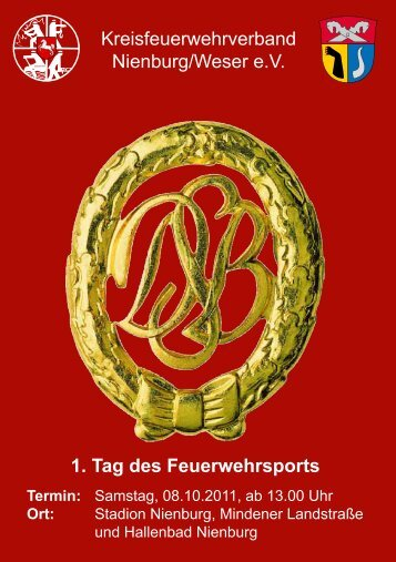 1. Tag des Feuerwehrsports Termin - Kreisfeuerwehrverband