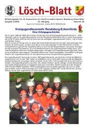 Lösch-Blatt - Ausgabe 2/2008 - Kreisfeuerwehrverband Rendsburg ...