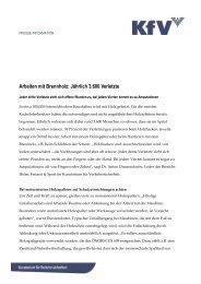 Arbeiten mit Brennholz: Jährlich 3.600 Verletzte - KfV