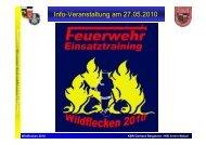 Wildflecken 2010 - KFV Wunsiedel