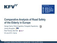 Comparative Analysis of Road Safety of the Elderly in Europe