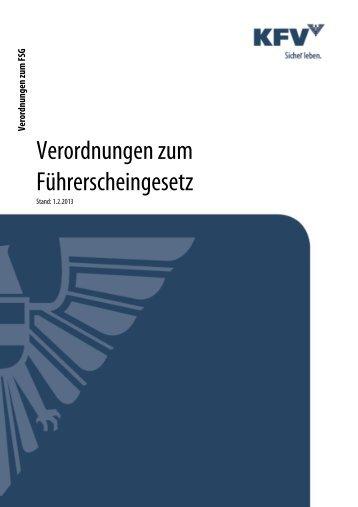 FSG-VO zum Download - KfV