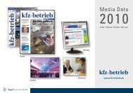 Print - Kfz-Betrieb - Vogel Business Media