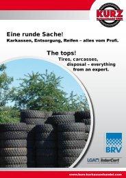 Eine runde Sache! The tops! - Kurz Karkassenhandel