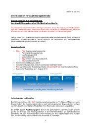 Neuordung des Ausbildungsberufes zum Kfz-Mechatroniker