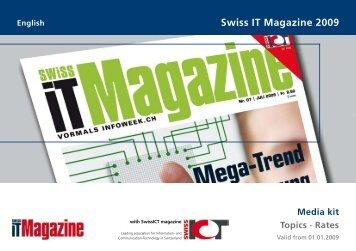 Swiss IT Magazine 2009 - Kfz-Betrieb - Vogel Business Media