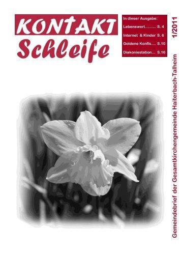 2011-01 Kontaktschleife.pdf - Kirchengemeinde Haiterbach