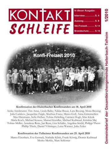 2010-01 Kontaktschleife.pdf - Kirchengemeinde Haiterbach