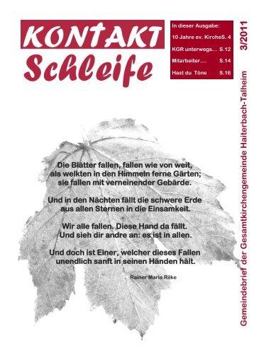 2011-03 Kontaktschleife.pdf - Kirchengemeinde Haiterbach