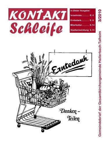 2010-03 Kontaktschleife.pdf - Kirchengemeinde Haiterbach
