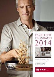 Neff Excellent Programm 2014
