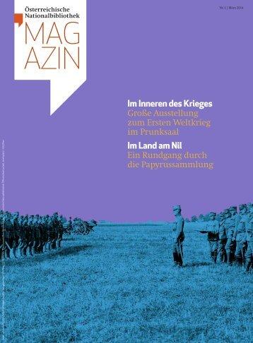 Magazin der Österreichischen Nationalbibliothek