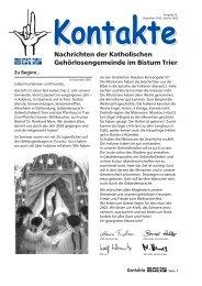 Besuch - Katholische Gehörlosenseelsorge im Bistum Trier