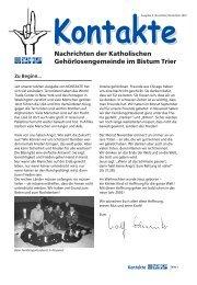 Download - Katholische Gehörlosenseelsorge im Bistum Trier