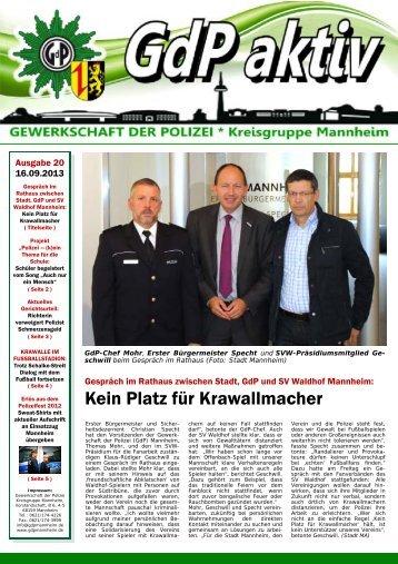 20 Publisher GdP aktiv 2013-09-12.pub - Keine Gewalt gegen ...