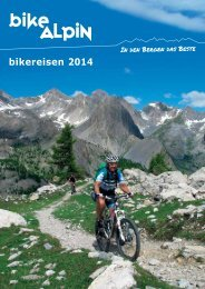 Bike Alpin Bikereisen 2014