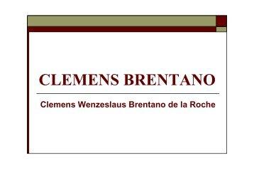 CLEMENS BRENTANO - KGS Schneverdingen