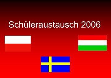 Schüleraustausch 2006 - KGS Schneverdingen