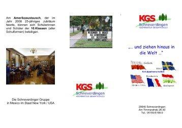 Schüleraustausch - KGS Schneverdingen