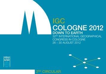IGC COLOGNE 2012