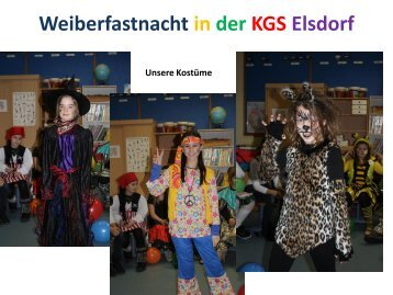Weiberfastnacht in der KGS Elsdorf