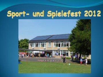 Fotos vom Sport- und Spielefest