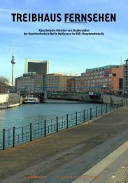 PDF download Treibhaus - Kunsthochschule Berlin-Weißensee