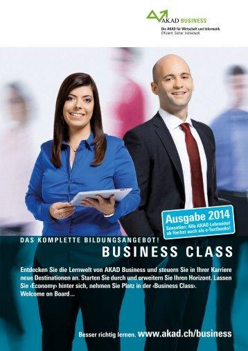 BUSINESS CLASS Ausgabe