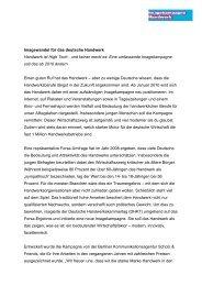 Pressemitteilung zum Start der Kampagne