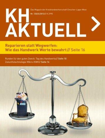 KH Aktuell - Kreishandwerkerschaft Emscher-Lippe-West