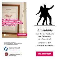 Einladung - Kreishandwerkerschaft Gelnhausen