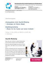 Fleischer-Innung – Brentanostr - Kreishandwerkerschaft Gelnhausen